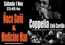 Ñaco Goñi & Medman COPPELIA